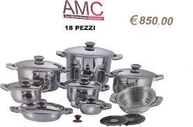 Olla AMC 18 piezas